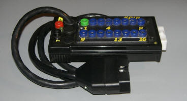 Breakout Box for reading MIL-codes without ScanTools (by J1962 connector)