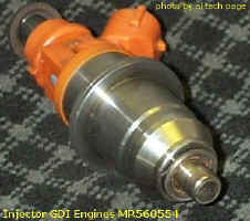 SWIRL Spray GDI Injector, SMD 23 (?) mkm