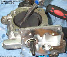 bad throttle and bad torque motor (throttle control motor)