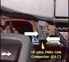 Honda Data Link Connectors on