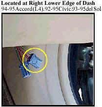 2 Pins SC Accord Civic
