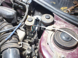 Diagnostic by pin Vf1 (by DLC No.1) on Carina E 7A-FE Lean Burn Toyota Engine