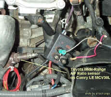 Checking Voltage and Current on Air/Fuel Ratio Sensor