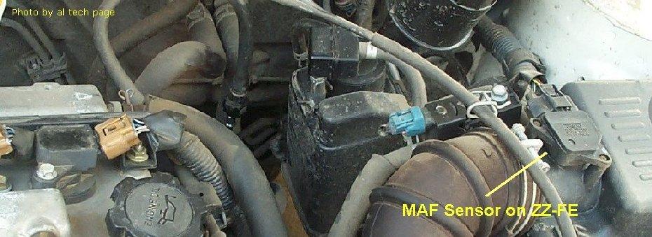 Maf Sensor Hot Wire Typerhalflashua: 2001 Toyota Corolla Maf Sensor Location At Elf-jo.com