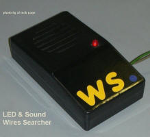 LED & Sound Wires Searcher