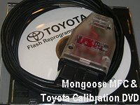 Mongoose MFC & Toyota Calibration DVD (00456-REPRG-001)