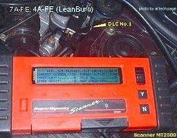 MT2500 (Snap-On) on pre-OBDII Car
